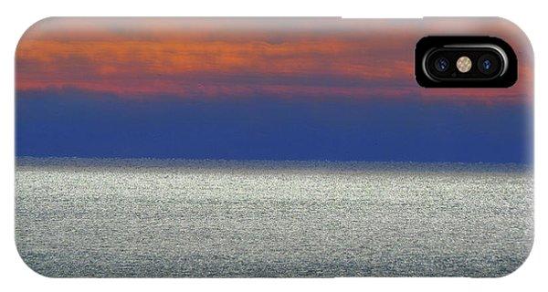 Horizontal Sunset IPhone Case