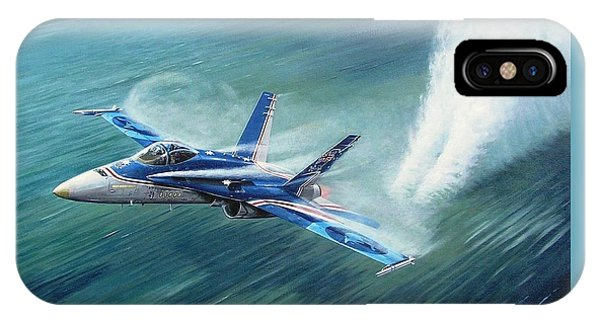 'hornet 20th Anniversary Over Myall Lake Nsw' IPhone Case