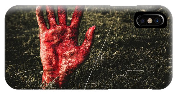 Zombies iPhone Case - Horror Resurrection by Jorgo Photography - Wall Art Gallery