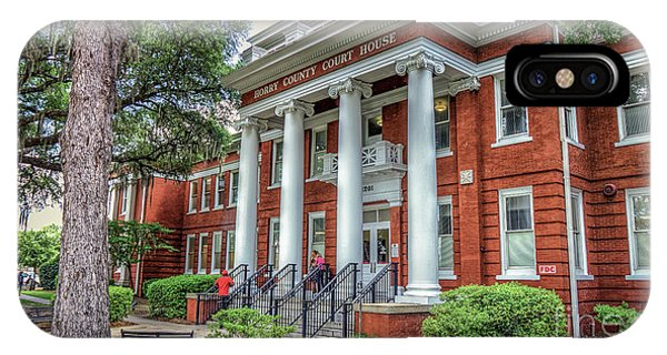 Horry County Court House IPhone Case