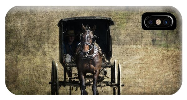 Berlin iPhone Case - Horse And Buggy by Tom Mc Nemar