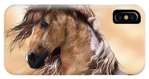 Horse Brown And White Paint IPhone Case