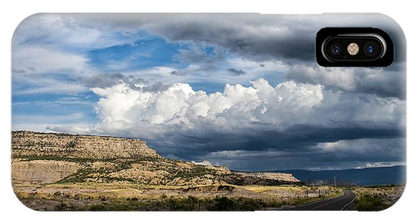 Horse Canyon By De Beque Colorado IPhone Case