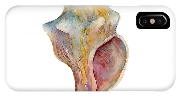 Horse Conch Shell IPhone Case
