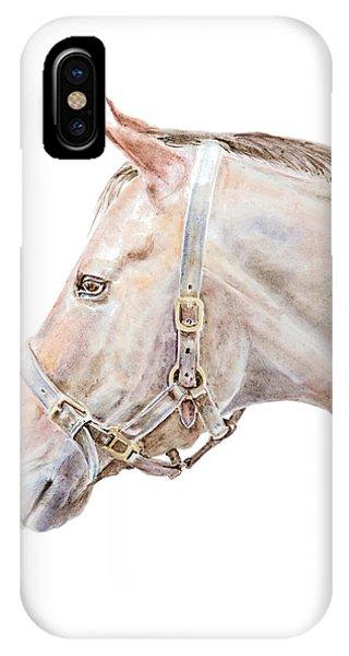 Horse Portrait I IPhone Case