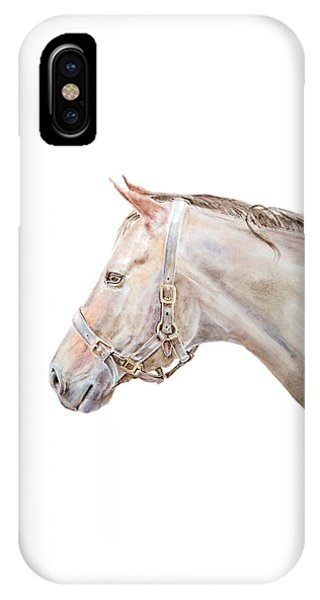 Horse Portrait I IPhone Case