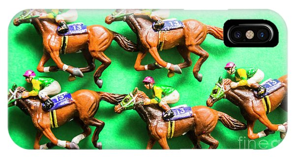 Horseman iPhone Case - Horse Racing Carnival by Jorgo Photography - Wall Art Gallery