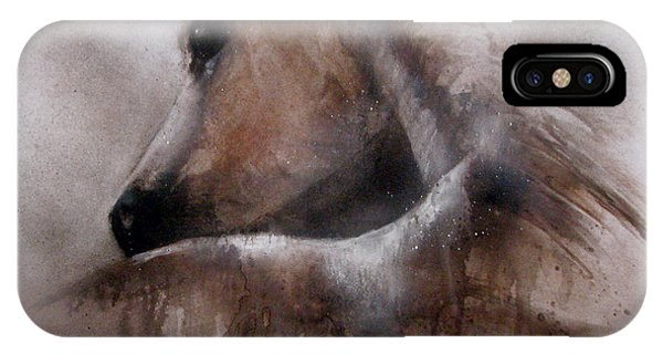 Horse Shy IPhone Case
