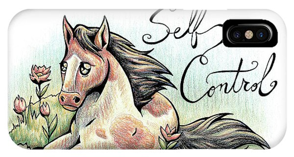 Fruit Of The Spirit Self Control IPhone Case