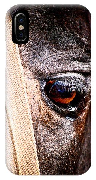 Horse Tears IPhone Case