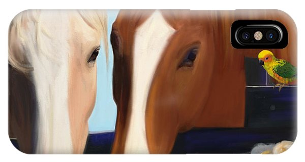 Horse Whispers  IPhone Case