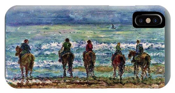 Horseback Beach Memories IPhone Case