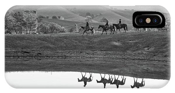 Horseback Landscape IPhone Case