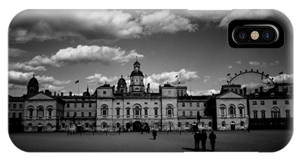 London iPhone Case - #horseguards #london #thisislondon #uk by Ozan Goren
