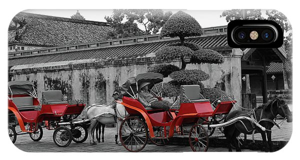 Horses And Carriages IPhone Case