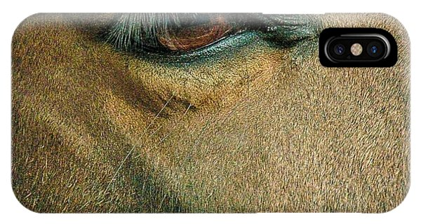 Horses Eye IPhone Case