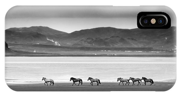 Horses, Iceland IPhone Case
