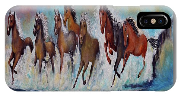 Horses Of Success IPhone Case