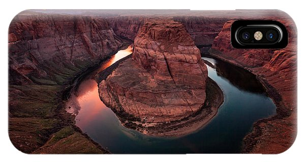 IPhone Case featuring the photograph Horseshoe Bend, Colorado River, Page, Arizona  by Bryan Mullennix
