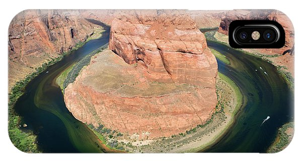 IPhone Case featuring the photograph Horseshoe Bend Colorado River by Steven Frame