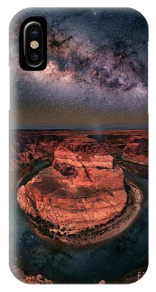 Horseshoe Bend With Milkyway IPhone Case