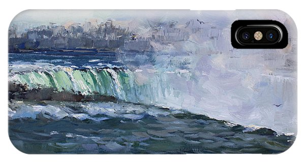 Waterscape iPhone Case - Horseshoe Falls by Ylli Haruni
