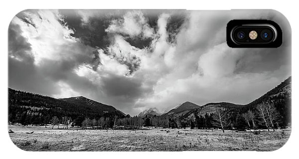 Rocky Mountain iPhone Case - Horseshoe Park by Twenty Two North Photography