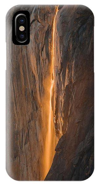 Horsetail Fall 1 Yosemite IPhone Case