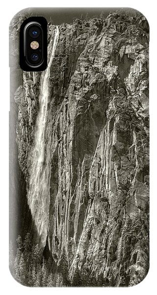IPhone Case featuring the photograph Horsetail Falls by Michael Kirk