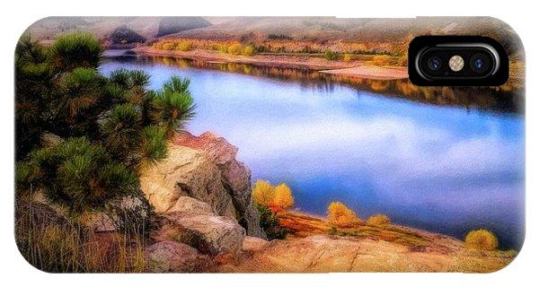 Horsetooth Lake Overlook IPhone Case