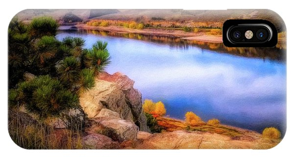 Horsetooth Lake Overlook IPhone Case