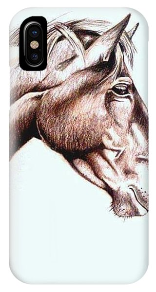 iPhone Case - Horsing Around  by Janine Bouwer