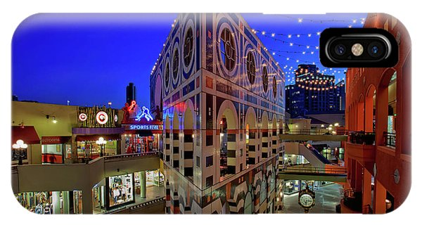 Horton Plaza Shopping Center IPhone Case