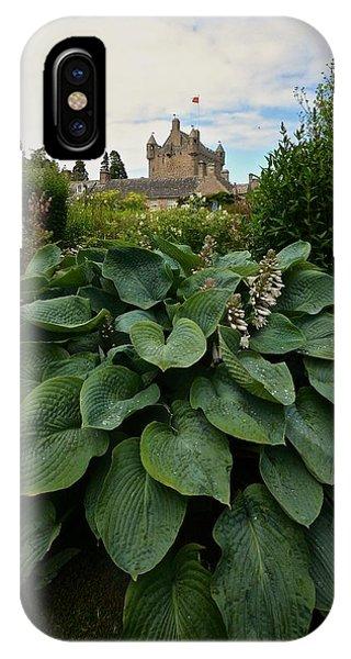 Hosta At Cowdor Castle IPhone Case