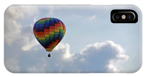 IPhone Case featuring the photograph Hot Air Balloon by Angela Murdock