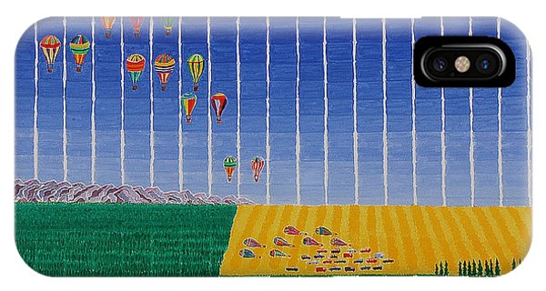 Hot Air Balloon Party IPhone Case