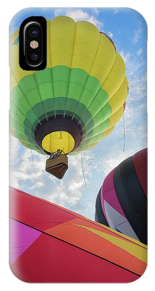 Hot Air Balloon Takeoff IPhone Case