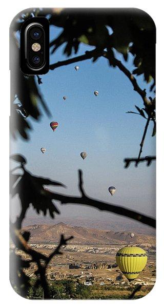 Hot Air Balloons In Cappadocia, Turkey IPhone Case