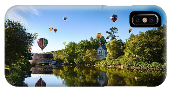 Hot Air Balloons In Quechee 2015 IPhone Case