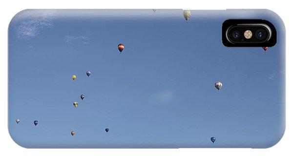 Hot Air Rising  IPhone Case