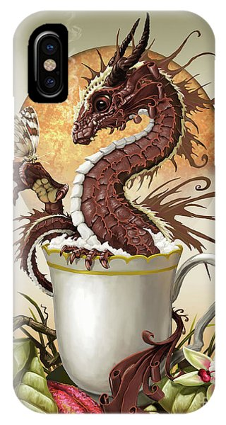 Hot Chocolate Dragon IPhone Case