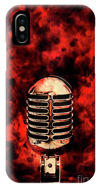 Entertaining iPhone Case - Hot Live Show by Jorgo Photography - Wall Art Gallery