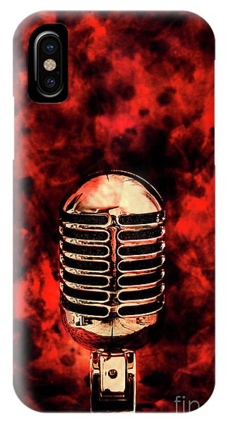 Fire iPhone Case - Hot Live Show by Jorgo Photography - Wall Art Gallery