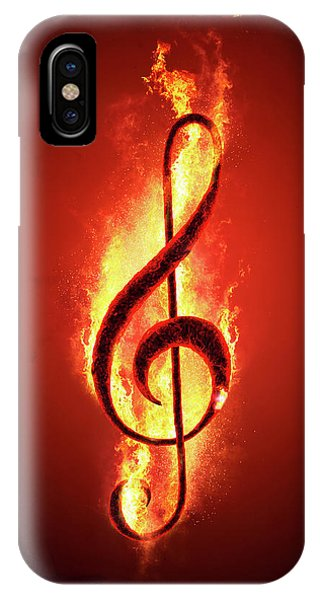 Hot iPhone Case - Hot Music by Johan Swanepoel