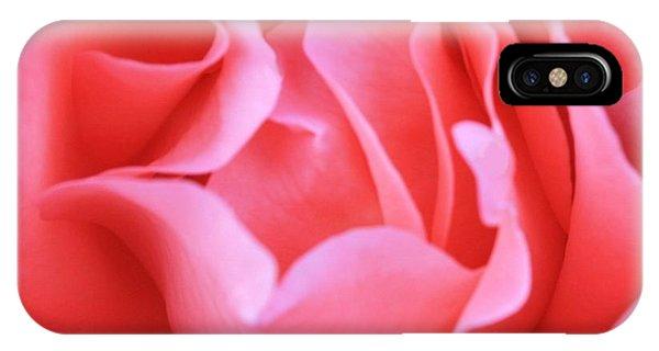 Hot Pink Petals IPhone Case