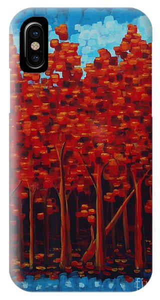 Hot Reds IPhone Case