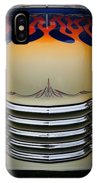Hot Rod Truck Hood IPhone Case