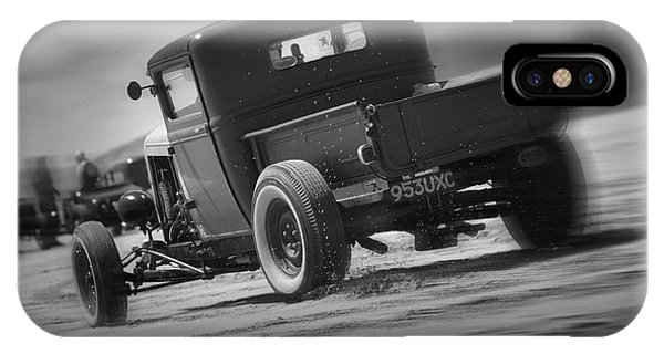 Hot Rods At Pendine 13 IPhone Case