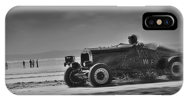 Hot Rods At Pendine 14 IPhone Case