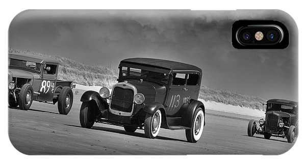 Hot Rods At Pendine 15 IPhone Case